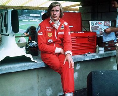 Framed James Hunt Print