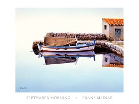 Framed September Morning Print