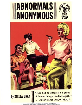 Framed Abnormals Anonymous Print