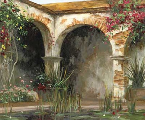Framed Archways Print