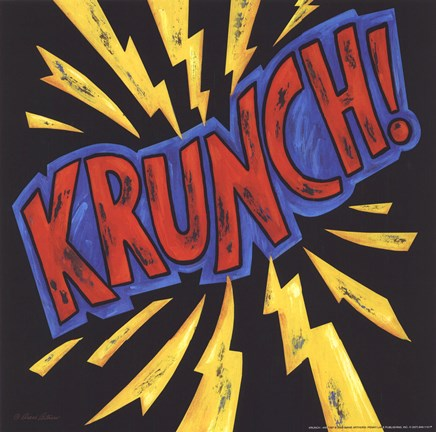 Framed Krunch Print