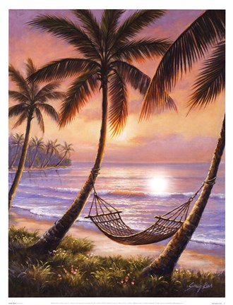 Framed Sunset Siesta Print