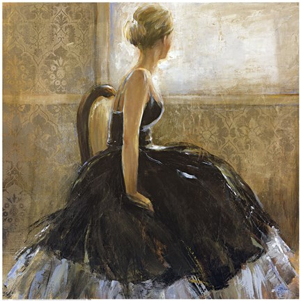 Girl In Dress Artwork By Bridges At Framedart Com