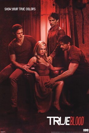 Framed True Blood - Show Your True Colors Print