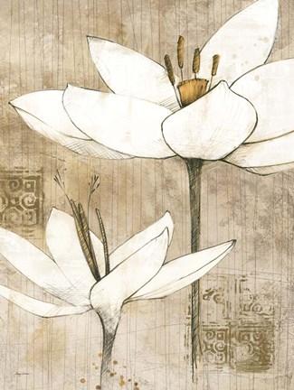 Pencil Floral I Art By Avery Tillmon At Framedart Com