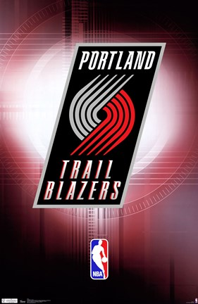 Framed Trailblazers - Logo 11 Print