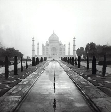 Framed Taj Mahal - A Tribute to Beauty Print