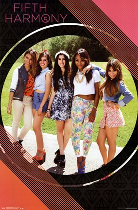 Framed Fifth Harmony - Posh Print