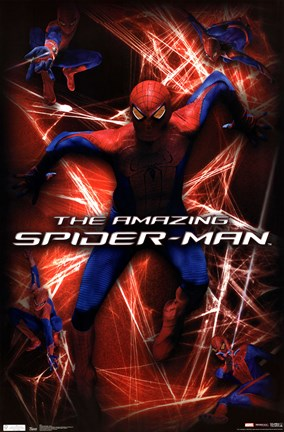 Framed Amazing Spider-Man - Action Print