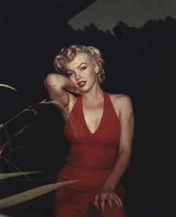Marilyn Monroe in Gold Dress 18X24 Poster Free Shipping