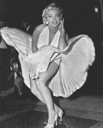 Marilyn Monroe 1954, New York City Poster by Unknown at FramedArt.com