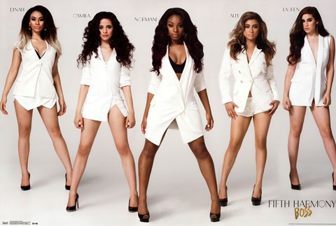 Framed Fifth Harmony - Stance Print