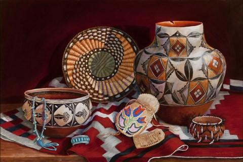 Native American Art Art by Marty LeMessurier at FramedArt.com