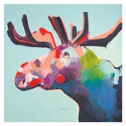 moose artwork by melissa lyons at framedart com