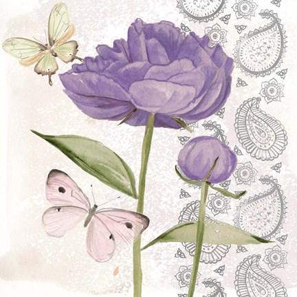 Flowers & Lace IV Art by Jennifer Parker at FramedArt.com