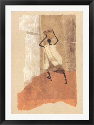 Framed Man with a Calabash Print