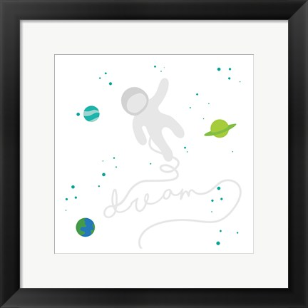 Framed Out There Space Print