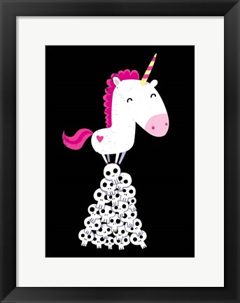 Framed Killer Unicorn Print