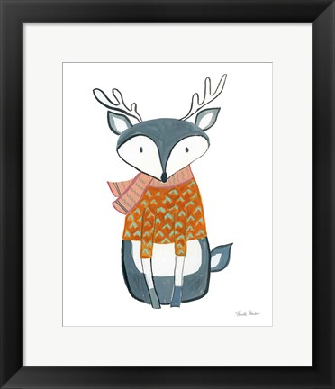 Framed Neighborhood Pals VIII Print