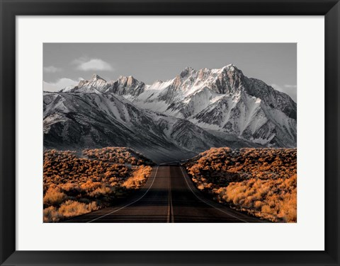 Framed Road 1 Print