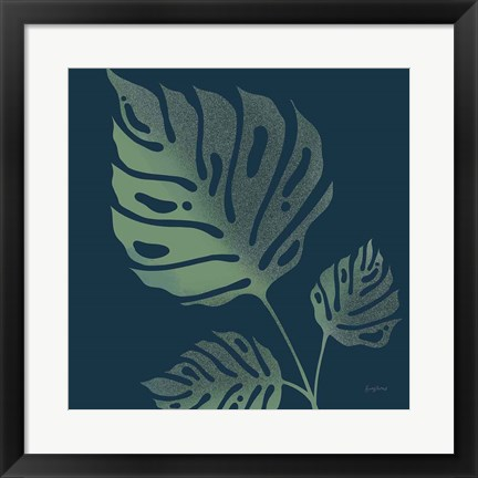Framed Monstera IV Print