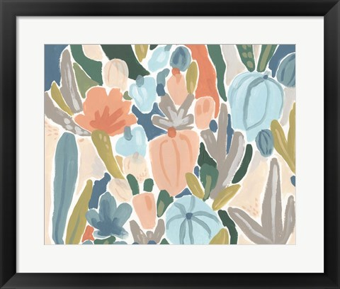 Framed Meadow Gala II Print