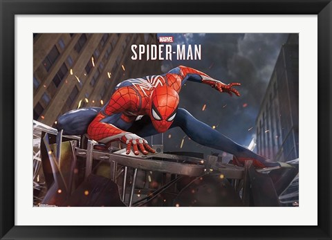 Framed SPIDER-MAN Print
