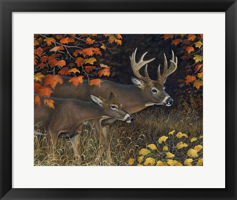 Framed Scent of Autumn Print