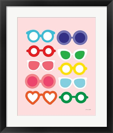 Framed Sunglasses for All Print