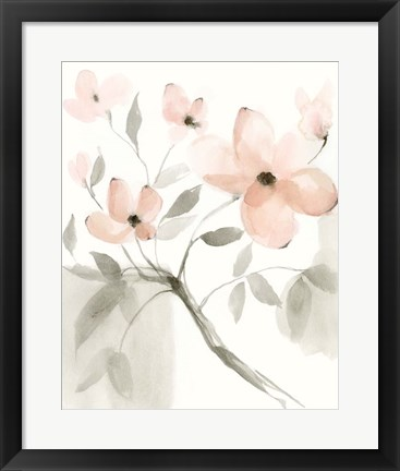 Framed Dogwood Dream II Print