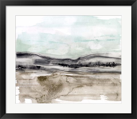 Framed Lines in the Range II Print