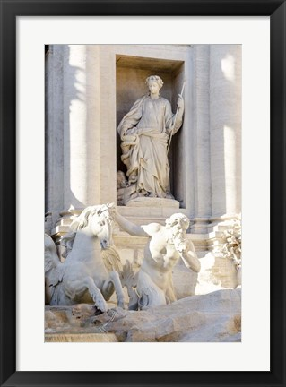 Framed Trevi Fountain in Afternoon Light III Print