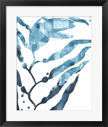 Framed Inkwash Kelp I Print