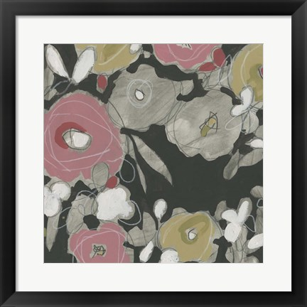 Framed Impulse Floral II Print