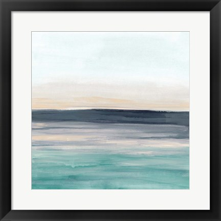 Framed Sea Rise II Print