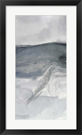 Framed Blue Whale Triptych II Print