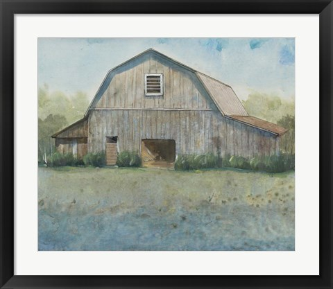 Framed Country Life II Print