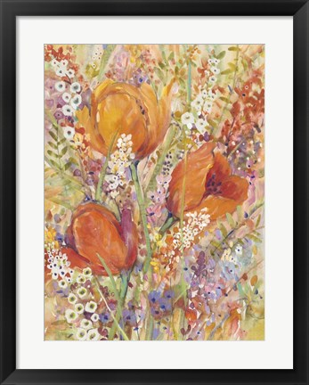 Framed Spring Bloom I Print