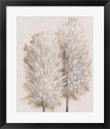 Framed Pampas Grass III Print