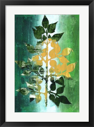 Framed Changing Leaves II Print