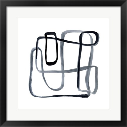 Framed Sinuous I Print