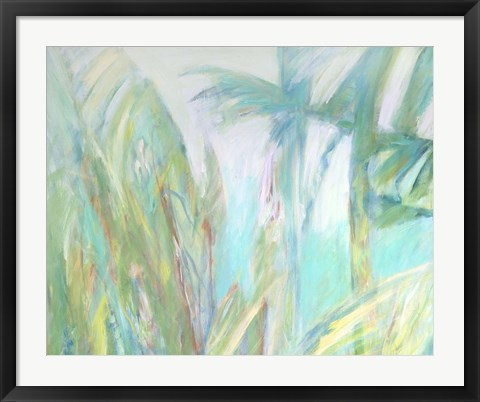 Framed Trade Winds Diptych I Print