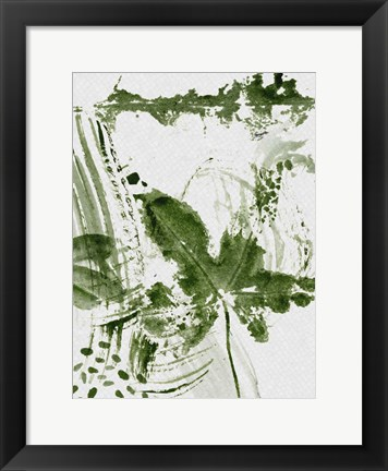 Framed Shades of Forest III Print