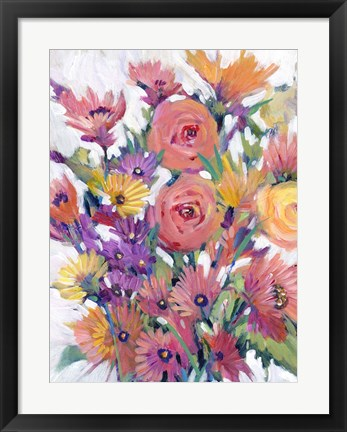 Framed Spring in Bloom I Print