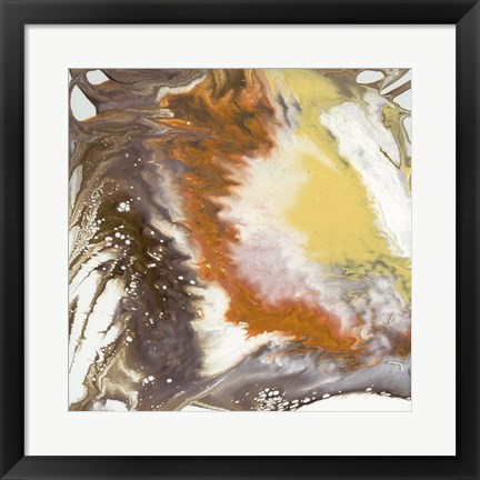 Framed Liquid Earth III Print