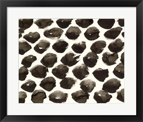 Framed Dots Imperfection II Print