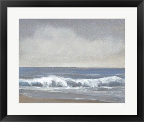 Framed Neutral Shoreline II Print