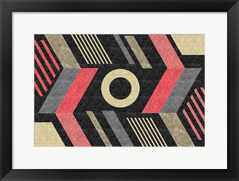 Framed Mod Abstract II Print