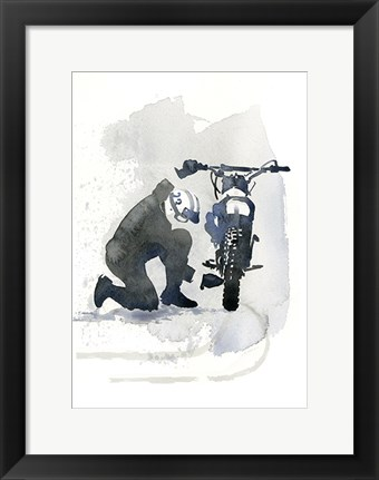 Framed Cool Guy III Print