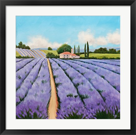 Framed Essence of Provence Print